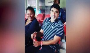 Brasil: doña Peta y 'Coyote' Rivera estuvieron presentes en partido de Paolo Guerrero