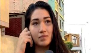 Callao: joven agredida asegura que abogada la acosa desde hace más de un año