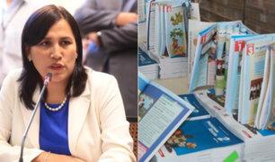 Minedu retira a funcionarios que incluyeron contenido sexual en textos de secundaria