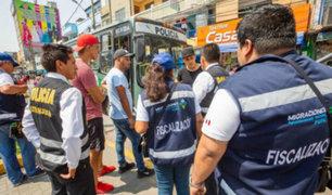 Migraciones: más de 100 extranjeros en condición irregular fueron intervenidos en Lima