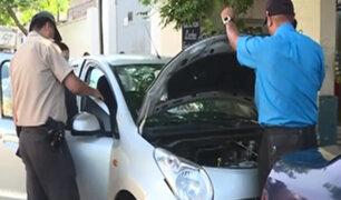 Miraflores: desmantelan auto de reportera de Panamericana Televisión