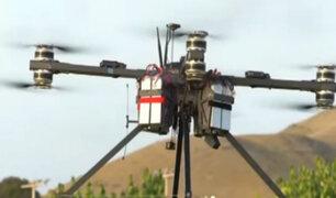 Presentan drone para búsqueda y rescate en casos de desastres