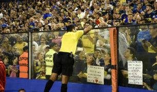 Diego Haro: árbitro peruano regaló tarjetas a niño hincha del Boca Juniors