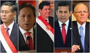 Cinco expresidentes son investigados por corrupción