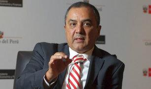 """Ministro Carlos Oliva: """"Hay un panorama positivo de crecimiento económico"""""""