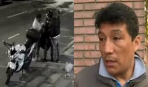 PNP habría negado ayuda a dueño de moto robada por estar fuera de su jurisdicción
