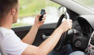 Estudio revela que los conductores adictos al celular son más peligrosos al volante que los ebrios