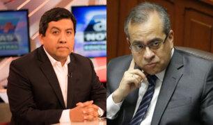 """Martín Santiváñez: """"La ministra Flor Pablo es la cuarta espada del saavedrismo"""""""