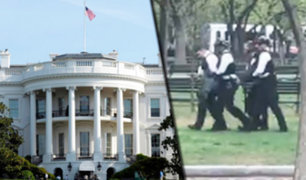 EEUU: sujeto intentó prenderse fuego frente a la Casa Blanca