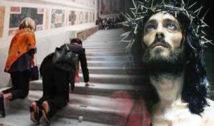Después de 300 años, reabren escalera donde subió Jesucristo en espera a ser juzgado