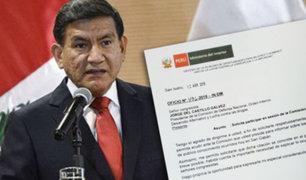 Ministro del Interior pide explicar enfrentamientos en San Gabán ante Comisión de Defensa