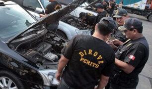 Diprove presenta a banda de delincuentes que robaban autos en SMP