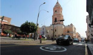 Centro de Lima: reducen a 30 km por hora la velocidad para vehículos