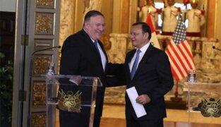 Mike Pompeo: EEUU sabe cuán importante es para Perú la extradición de Toledo