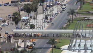 Costa Verde fue cerrada por triatlón internacional Ironman 70.3