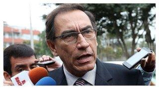 Ipsos: aprobación del presidente Martín Vizcarra bajó a 44%