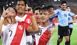Selección peruana sub-17 derrota a Uruguay por 3 -2 y está cerca del Mundial de Brasil