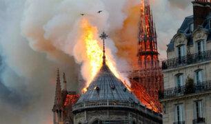 Fiscalía de París abre investigación por incendio de Notre Dame