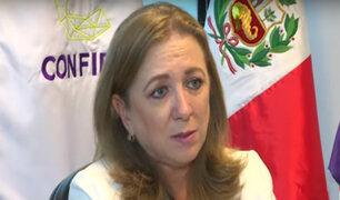 Presidenta de Confiep: salario mínimo no impacta en mayoría de formales