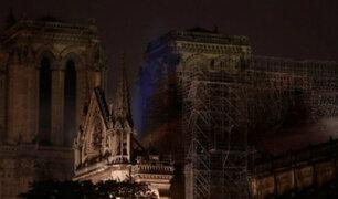 FOTOS: primeras imágenes luego del voraz incendio en catedral de Notre Dame