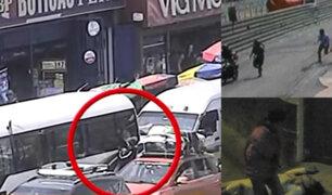 Ate Vitarte: cae banda que se dedicaba a robar a pasajeros de autos y buses