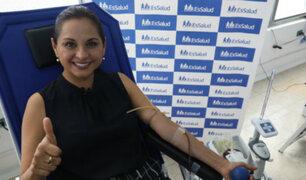 Rosana Cueva: periodista se suma a reto que incentiva donación de sangre