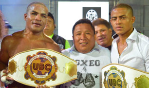 Hermanos Zegarra lograron títulos mundiales de boxeo