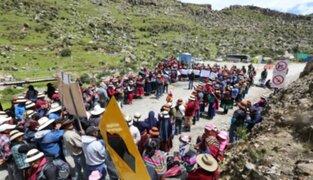Las Bambas: comuneros de Challhuahuacho anuncian paro tras frustrado diálogo