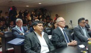 Fiscalía ratifica pedido de 36 meses de prisión preventiva contra PPK