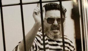 Base Naval del Callao: manifestantes piden liberación de terrorista Abimael Guzmán