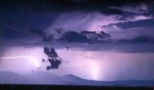 Grecia: 'lluvia de rayos' azotaron los cielos de Atenas