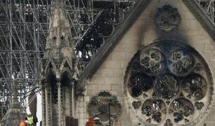 Cinco años tomaría reconstruir Notre Dame, según presidente Emmanuel Macron