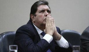 Reacciones al interior del país tras muerte de Alan García