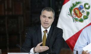 """Del Solar: """"Mis condolencias a los familiares del expresidente Alan García"""""""