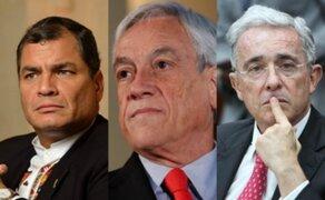 Líderes latinoamericanos mostraron su pesar por muerte de García