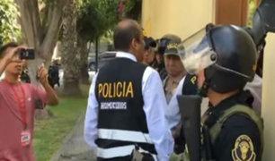 Alan García: Peritos de Criminalística llegaron a vivienda del expresidente