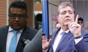 Abogado Erasmo Reyna discute con fiscal por continuar diligencias contra Alan García