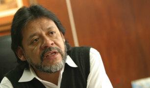 César Gutiérrez: muerte de Alan va a generar un giro en la política peruana