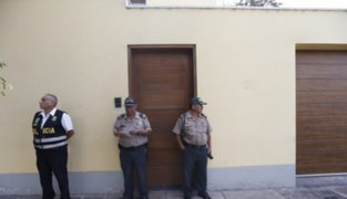 Minuto a minuto: así se llevó a cabo la diligencia en casa de Alan García