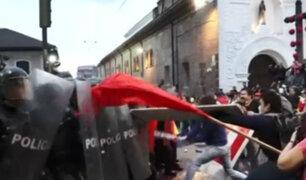 Ecuador: violencia durante protestas a favor de Assange