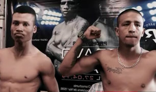 'Rayo' Bravo y la 'Maravilla' Díaz se enfrentan por el título nacional del boxeo