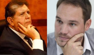 George Forsyth acudió a velorio del expresidente Alan García