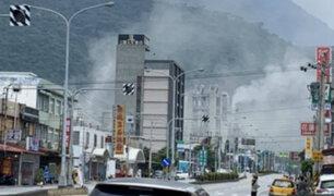 Taiwán: sismo de 6.1 grados causó pánico en Taipéi