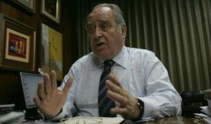 """Flores-Aráoz sobre muerte de García: """"Nos debe llevar a reevaluar las disposiciones legales"""""""