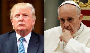 Donald Trump y el Papa Francisco hablaron telefónicamente sobre crisis en Venezuela