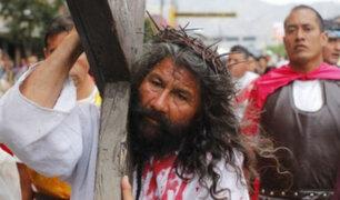 El 'Cristo Cholo' celebra el Jueves Santo