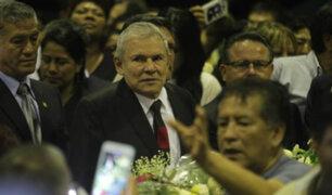 """Luis Castañeda Lossio sobre Alan García: """"Ha preferido su honor a la humillación"""""""