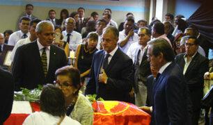 Diversas personalidades dan el último adiós a Alan García en 'La Casa del Pueblo'
