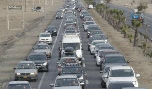 Semana Santa: disponen medidas para retorno de vehículos por Carretera Central y Panamericana Sur
