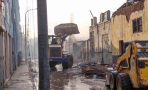 MML dispone cierre de Mesa Redonda por tres semanas tras incendio